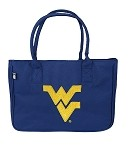 West Virginia University WVU Handbag Logo Purse