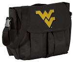 West Virginia University WVU Diaper Bag Official NCAA College Logo Deluxe