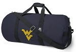 West Virginia University WVU Duffel Bag Official NCAA College Logo