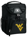 West Virginia University WVU Lunch Bag Insulated Lunch Cooler Black