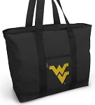 West Virginia University WVU Tote Bag Black Deluxe