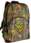West Virginia University WVU REAL Camo Backpack