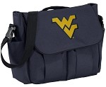 West Virginia University WVU Diaper Bag Official NCAA College Logo Blue