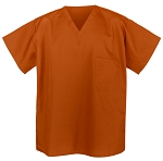 Burnt Orange Scrub Shirts