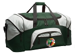 Large Soccer Duffle Bag Green