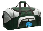 Large Dolphin Duffle Bag Green