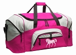 Horse Duffel Bag or Gym Bag for Women