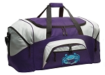 LARGE Blue Crab Duffle Bags & Gym Bags
