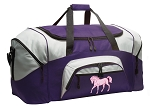 LARGE Horse Duffle Bags & Gym Bags