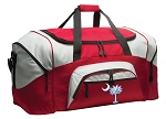 South Carolina Duffle Bag or South Carolina Gym Bags Red