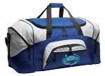 Blue Crab Duffle Bag or Blue Crabs Gym Bags Blue