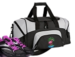Small Pink Flamingo Gym Bag or Small Flamingos Duffel