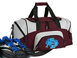 SMALL Dolphin Gym Bag Dolphins Duffle Maroon