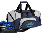 SMALL Blue Crab Gym Bag Blue Crabs Duffle Navy