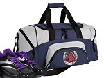 SMALL Horses Gym Bag Horse Lover Duffle Navy