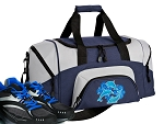 SMALL Dolphin Gym Bag Dolphins Duffle Navy