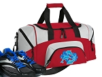 DOLPHINS Small Duffle Bag Red