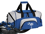 SMALL South Carolina Gym Bag South Carolina Duffle Blue