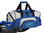 SMALL Blue Crab Gym Bag Blue Crabs Duffle Blue