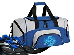 SMALL Dolphin Gym Bag Dolphins Duffle Blue