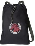 Horse Cotton Drawstring Bag Backpacks