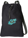 Christian Cotton Drawstring Bag Backpacks