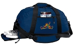 Peace Frogs Duffle Bag w/ Shoe Pocket