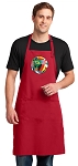 Soccer Large Apron Red
