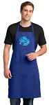 DOLPHINS Large Apron Royal