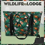 Wolf Bear Deer Deluxe Tote Bag