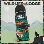 Wolf Bear Deer Phone Glasses Case