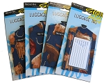 Horses Saddles Luggage Tags SET of 4