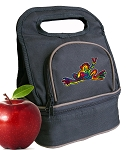 Peace Frogs Lunch Bag 2 Section