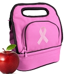 Pink Ribbon Lunch Bag Girls or Ladies