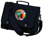 Soccer Messenger Bag Navy