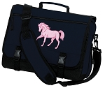 Cute Horse Messenger Bag Navy
