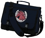 Horse Messenger Bag Navy