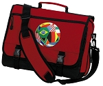 Soccer Messenger Bag Red
