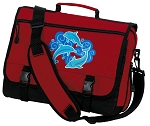 DOLPHINS Messenger Bag Red