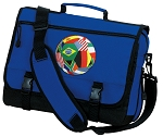 Soccer Messenger Bag Royal