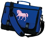 Cute Horse Messenger Bag Royal