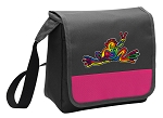 Peace Frogs Lunch Bag Cooler Pink