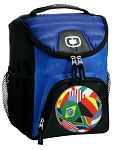 Our Best Soccer Lunch Bag Cooler Blue