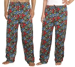 WILD BIRDS Pajama Bottoms or Lounge Pants