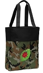 Ladybug Tote Bag Everyday Carryall Camo