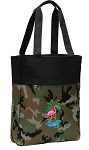 Flamingo Tote Bag Everyday Carryall Camo