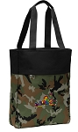 Peace Frogs Tote Bag Everyday Carryall Camo