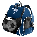 South Carolina Soccer Ball Backpack