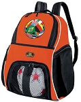 Soccer Ball Backpack Orange