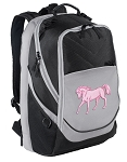 Cute Horse Laptop Backpack